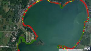 2013 Shell Lake Shoreline Survey