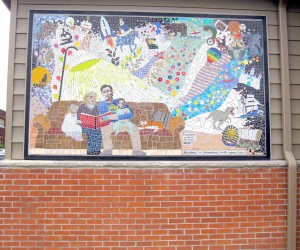 Shell Lake Library Mural 2